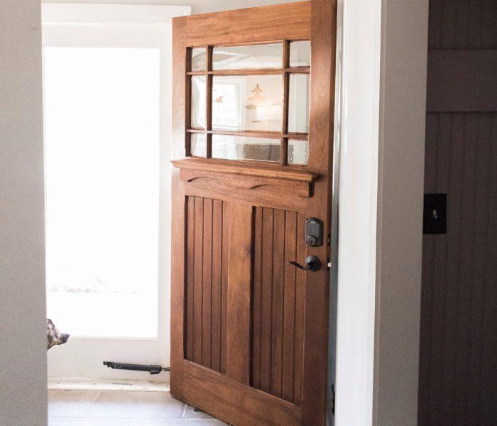 Craftsman Entry Door